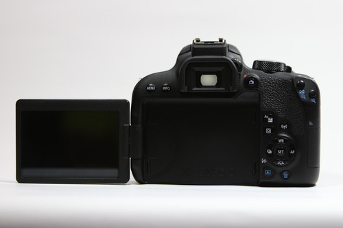 canon eos revel t7i cámara 24mplx full hd