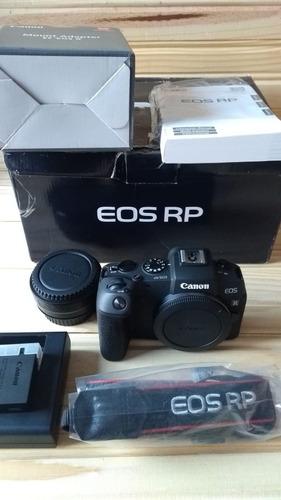 canon eos rp + adaptador ano 2019
