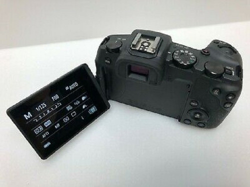 canon eos rp mirrorless 4k video camera (body only)