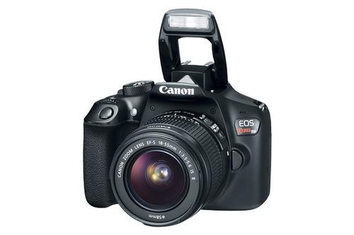 canon eos t6 camara digital con lente ef-s 18-55mm nueva