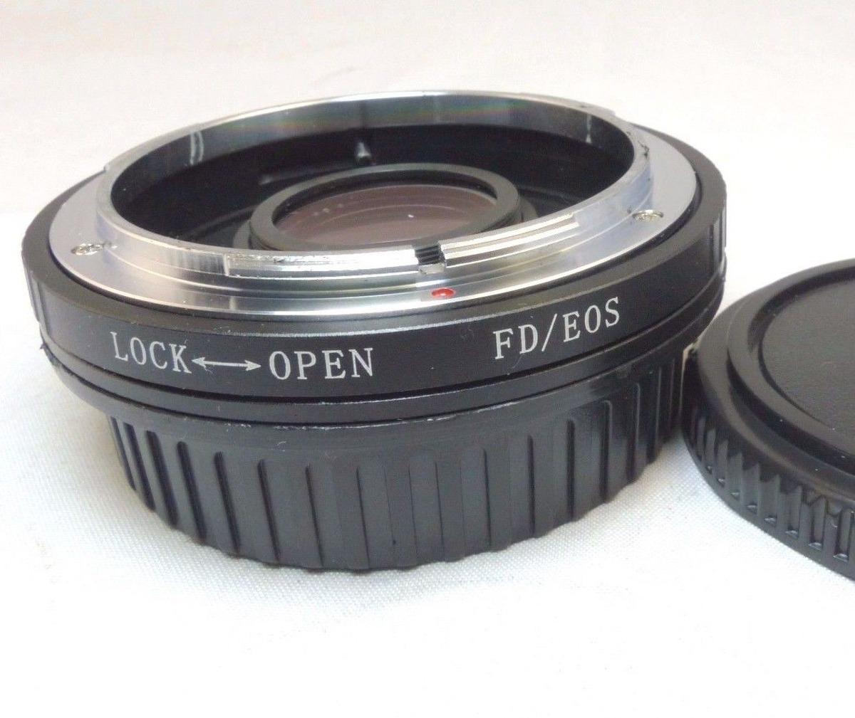 Canon Fd Lens Mount To Canon Eos Ef Slr Anillo Adaptador