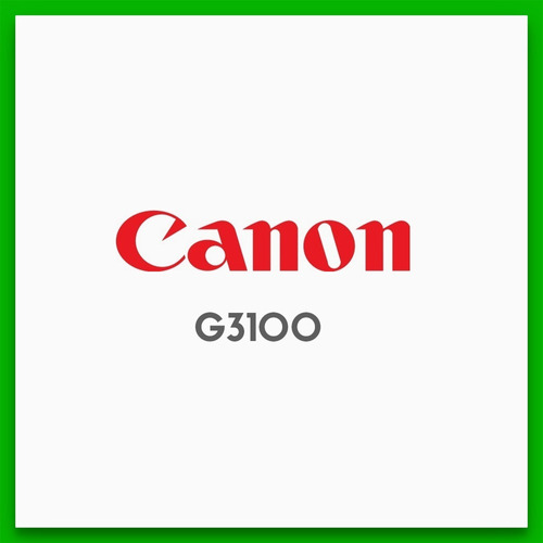 canon g3100 impresora multifuncion c/ sistema continuo wifi