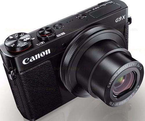 canon g9x com cartão 32gb classe 10 powershot g9 x, gar 1ano