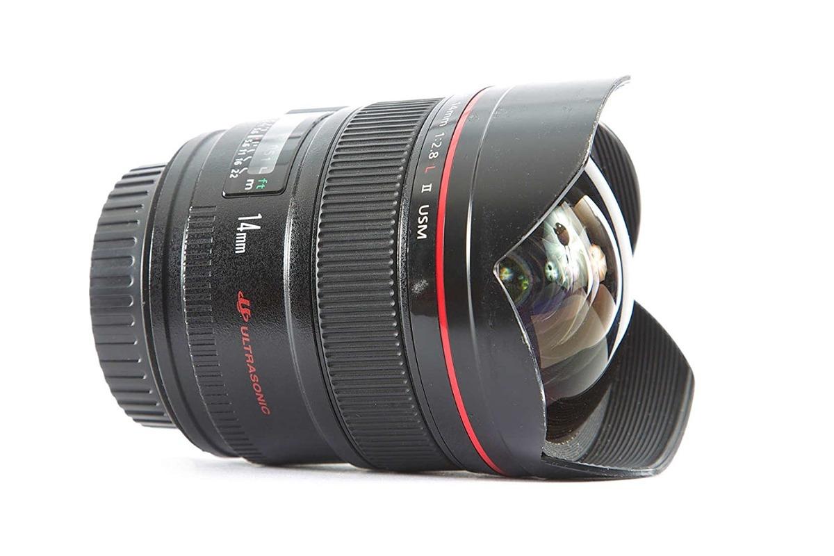 Canon Ef 14 Mm F / 2,8l Ii Usm Ultra Gran Angular De Lente F ...