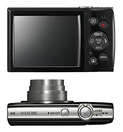 canon ixus 185 /elph 180 20mp full hd video cámara digital