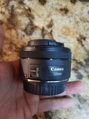canon lente 50mm f1.8  stm