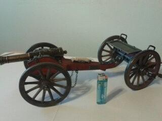 cañón modelo napoleón nuevo uso decorativo