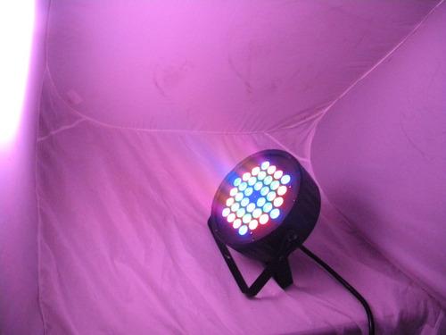 cañon par 64 36x3w luz disco hyper led dmx lampara