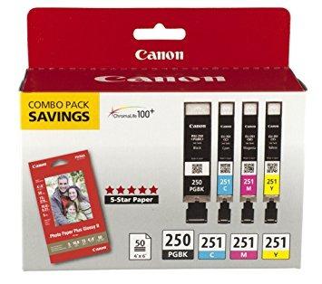 canon pgi-250 / cli-251 combo pack