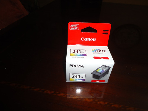canon pixma cl-241xl color alto rendimiento