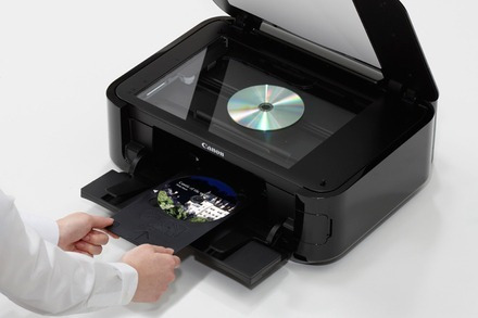 canon pixma mg5320 usada a reparar +scanner+dvd+sist continu