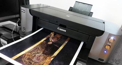 canon pixma pro 100 a3+ fotográfica 08 cores