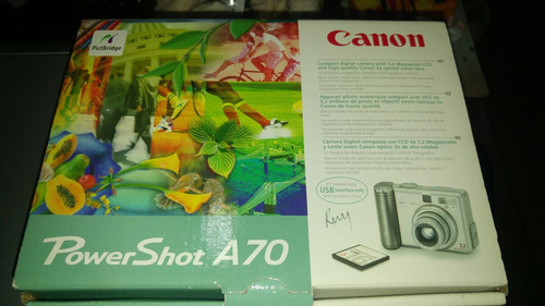canon power shot a70