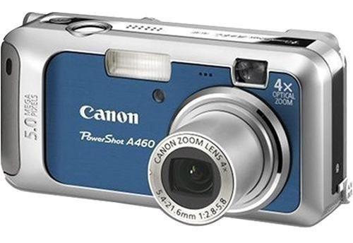 canon powershot a4605megapíxeles cámara digital, color
