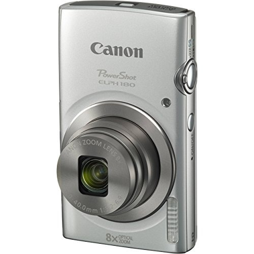 canonâ powershot elph 180 20mp 8x zoom de la cámara digita