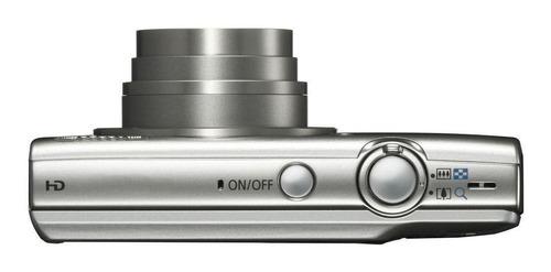 canon powershot elph 180 compacta color plata
