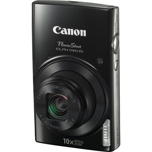 canon powershot elph 190 is black digital camera 32gb