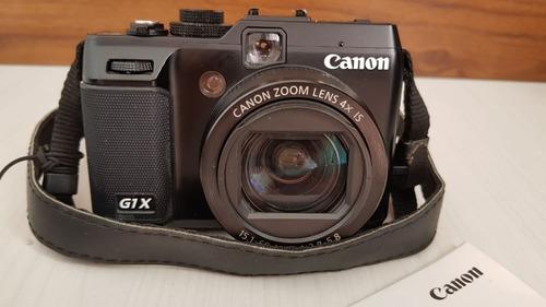 canon powershot g1 x impecável (vendo ou troco por airsoft)