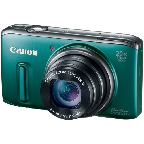 canon powershot sx260 hs cámara digital cmos de 12,1 mp...