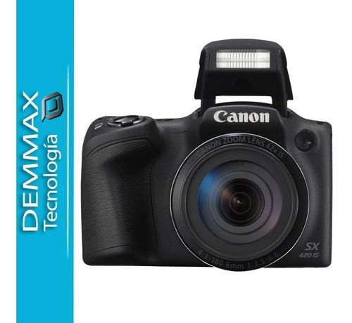 canon powershot sx420 is zoom 42x 20mp wi fi/ iva incluido