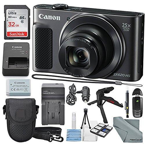 canon powershot sx620 hs cámara digital junto con 32 gb,...