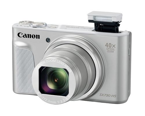 canon powershot sx730 hs cámara de fotos (negra)