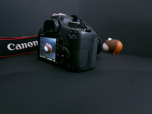 canon rebel eos t1i con lente 18-55mm + estuche super oferta