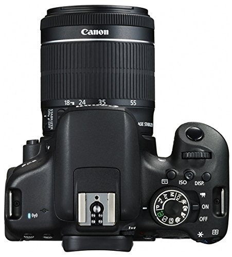 canon rebel t6i eos 750d 18-55 is 24mp camara