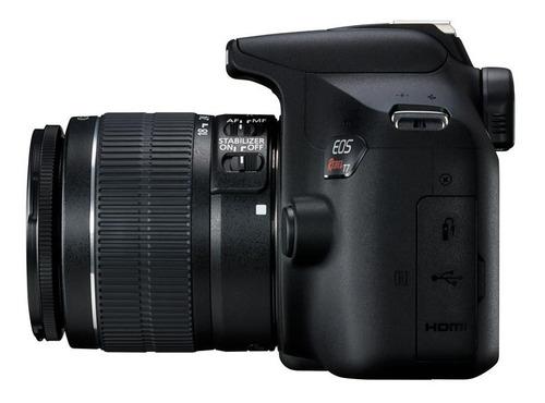 canon rebel t7 + lente ef-s 18-55mm f/3.5-5.6 is ii | 12c