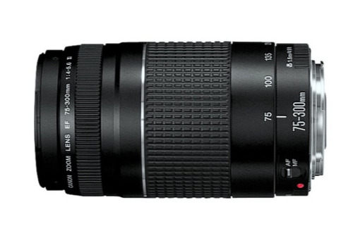canon rebel xsi  lentes is 18-55mm y ef 75-300mm
