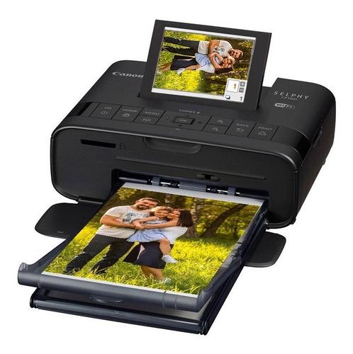canon selphy cp1300 impressora fotográfica + papel 108 fotos