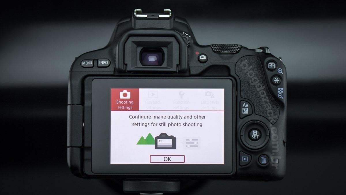 Canon Sl2 Premium+18-55+55-250 Stm+bolsa+32gb+tripé Rev aut