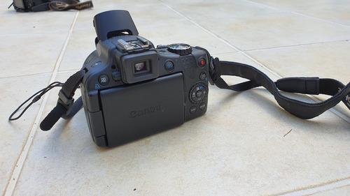 canon sx50 hs lente zoom 24-1200 + bolsa + carregador