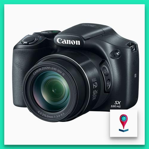 canon sx530 camara digital 16mp zoom 50x wifi nfc full hd