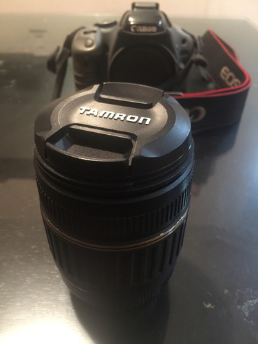 canon t2i con lente tamron 18-200mm