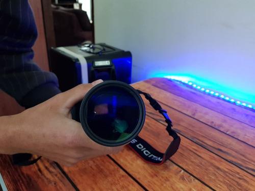 canon t3i + lente 75mm x 300mm