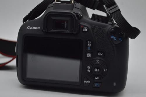 canon t5 + maletin y memoria de 8gb