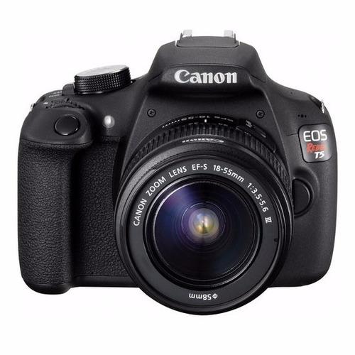 canon t5 premium kit +18-55mm +55-250 revend autoriz canon