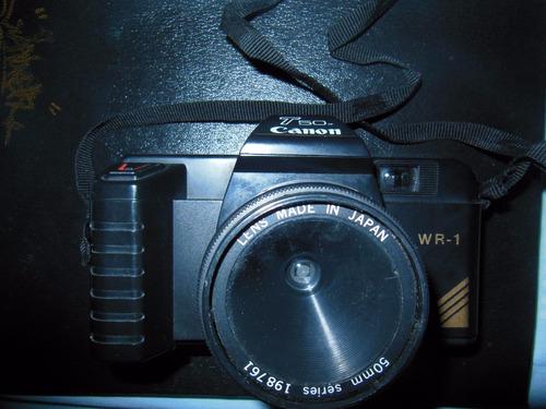 canon t50 wr-1  de coleccion  100% operativa