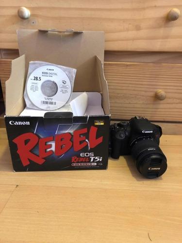 canon t5i + lente 18-55 kit