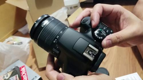 canon t6 kit 18-55 + memoria + garantía  en stock!!!