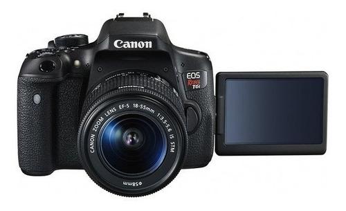 canon t6i premium 18-55mm + 55-250mm nova