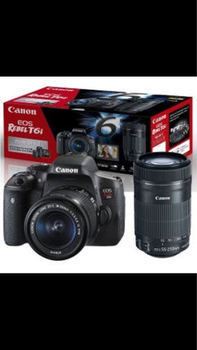 canon t6i premium kit 18-55 is stm+50 1.8 is stm 55-250+32mb