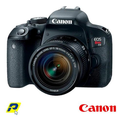 canon t7i nuevo 24.2 mp lente 18-55mm + memoria 32gb