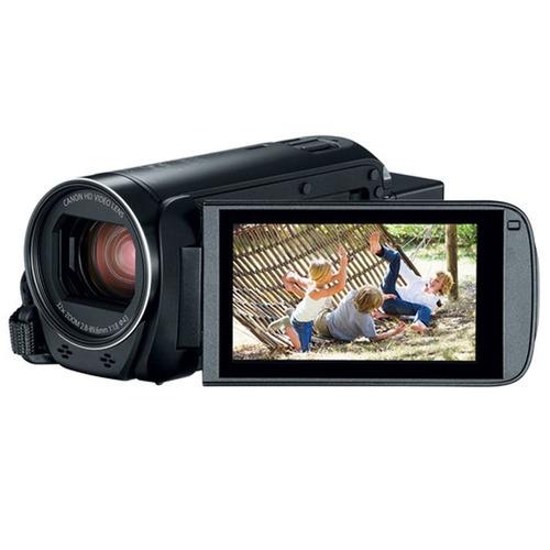 canon vixia hf r800 camcorder (black) + sandisk 64gb memory