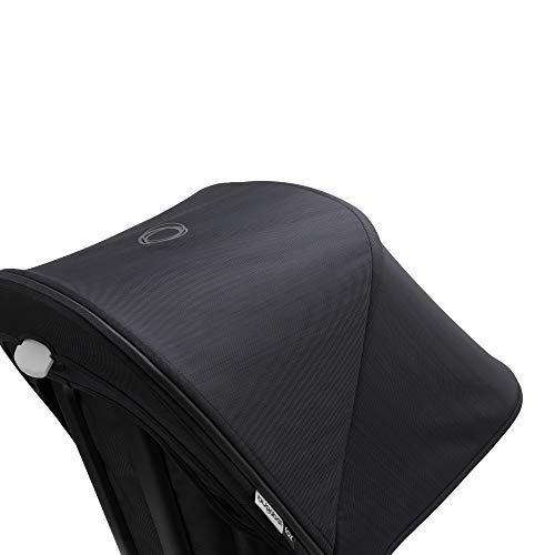 Made with Reflective Materials for Nighttime Visibility Extendable Sun Shade for Full Weather Protection Bugaboo Fox//Cameleon3 Stellar Sun Canopy