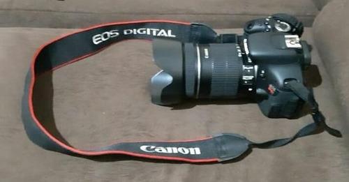 canos t3i com lente 18-135 toda ok