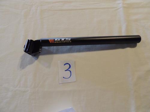 canote de selim alumínio gts 27.2 / 38.1 - 320mm cod 03