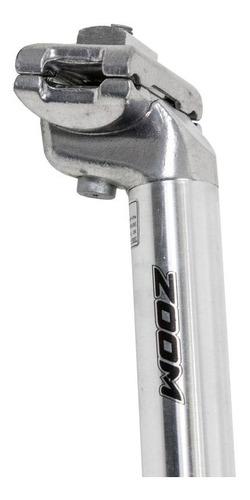 canote de selim zoom c207 polido 26.2 x 350mm
