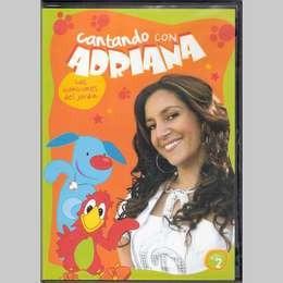 cantando con adriana vol 2 las canciones del jar dvd nuevo